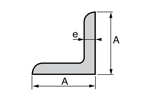 Croquis perfil angular